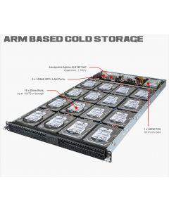 Avantek 1U ARM Storage Server (without HDD/SSD)